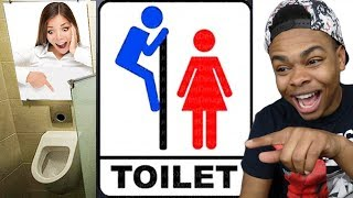 HILARIOUS RESTROOM SIGN FAILS!!!