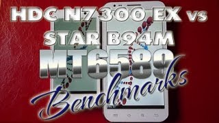 HDC Galaxy Player N7300 Ex vs Star B94M Quadcore - Benchmark Test - MT6589 - Dualsim  ColonelZap