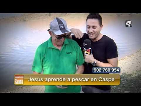 Jesús pescador, en el Mar de Aragón, Caspe. Sin Ir Más Lejos