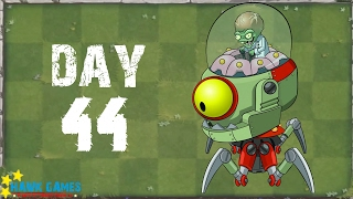 Plants vs. Zombies 2 - Modern Day Day 44 BOSS