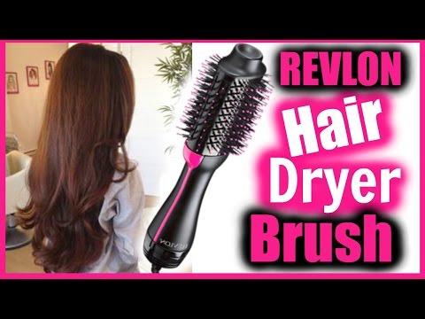 Revlon Hair Dryer Brush Tutorial + Review │ DOES THIS WORK? │ WEIRD HAIR TOOL DEMO