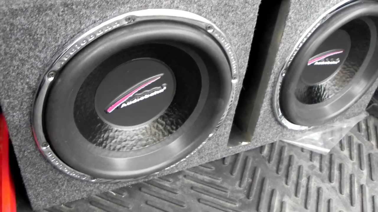 Audiobahn 12 Quot Natural Sound Aw1251j Subwoofers Hifonics