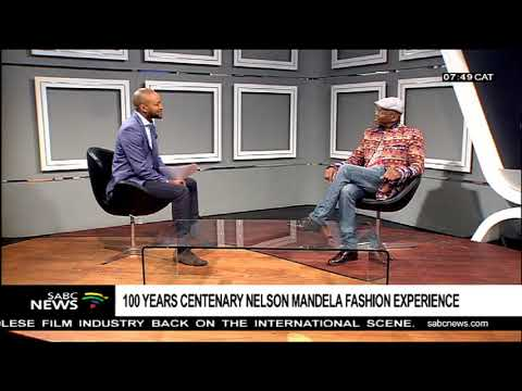 Madiba T-shirt designer Sonwabile Ndamase on his latest offering