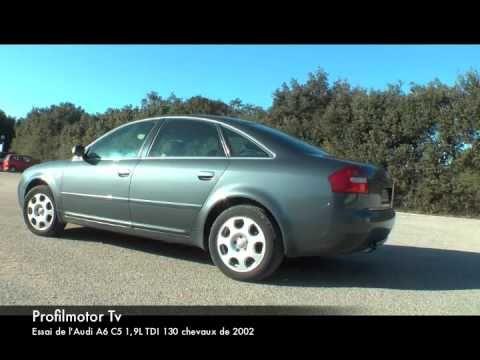 Test de l'Audi A6 C5 1.9 tdi 130 de 2002 par Profilmotor Tv