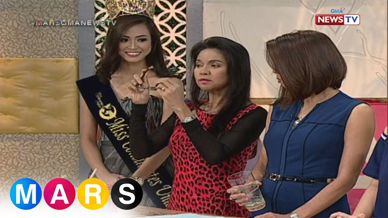 Mars Momergency: Rubber band hacks with Ms. Maria Isabel Lopez