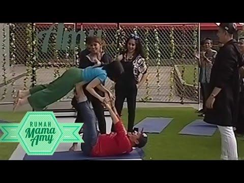 Ini dia Yoga Romantis ala Gading Marten dan Gissela Anastasia  - Rumah Mama Amy (27/2)