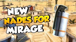 10 USEFUL NADES FOR NEW MIRAGE CHANGES