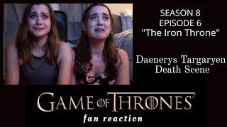 Game of Thrones Fan Reaction to Season 8 Episode 6: DAENERYS TARGARYEN DEATH SCENE !!!