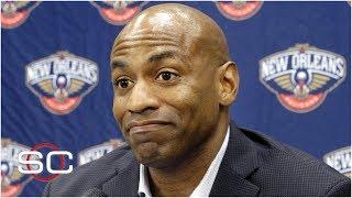 Pelicans fire Dell Demps; New GM to lead Anthony Davis trade talks - Woj | NBA on ESPN
