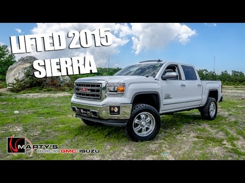 LIFTED 2015 GMC Sierra 1500 LOADED - Quick Look!