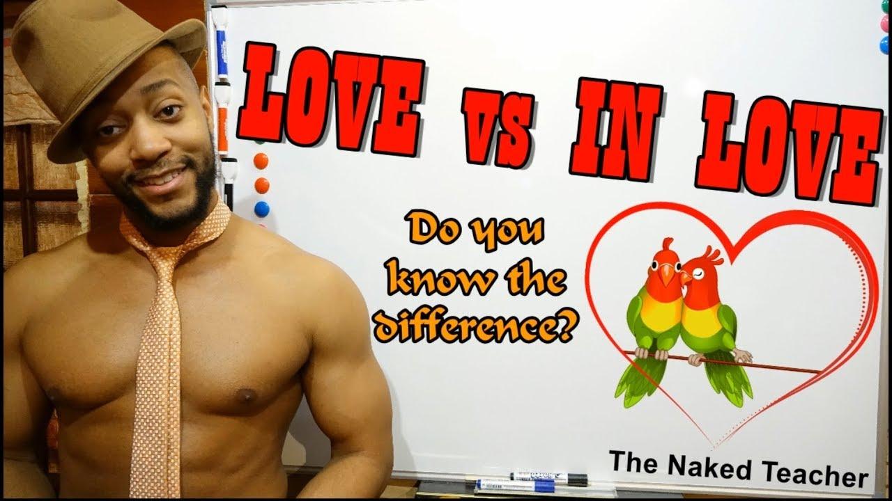 LOVE vs IN LOVE