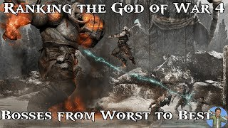 Ranking the God of War 4 Bosses from Worst to Best