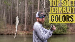 4 Soft Jerkbait Colors You Need to Own