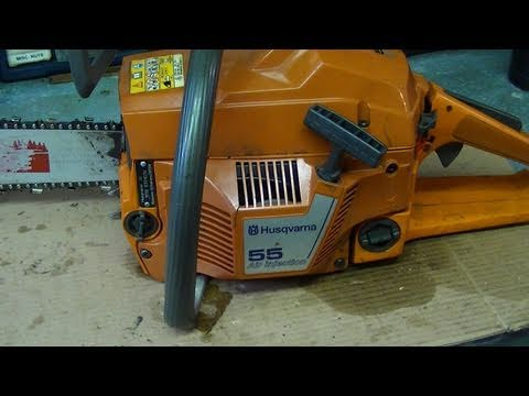Engine Rebuild On Husqvarna 55 & 51 Chainsaw Part 3/3