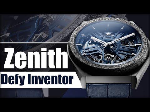 Zenith Defy Inventor. Громкая новинка #BaselWorld2019