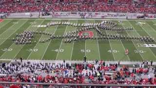 Ohio State Marching Band Hollywood Blockbusters Vs Penn St 10 26 13
