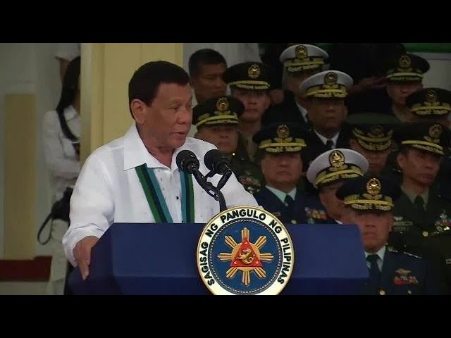 Duterte to new AFP chief: Destroy firearms seized from terrorists