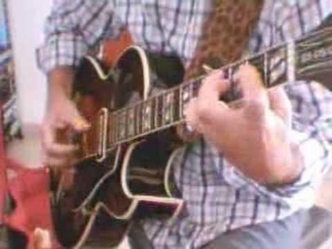 Too Tight Rag, Merle Travis, by Nicola Mandorino