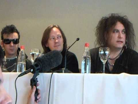 The Cure en Paraguay - Conferencia de prensa 1-4