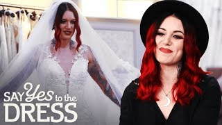 Alternative Model With 1.7M Followers Wants a Traditional Wedding Gown! | Say Yes To The Dress UK