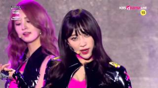 EXID Intro Hot Pink 160114 KBSdrama 25th Seoul Music Awards
