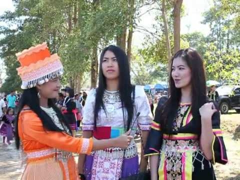 Watch [Hmong Cute Girl's] ep1. Hmong New Year 2013 - Par Krang, Nan Thailand