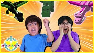 Roblox Dragon Rage CRAZY DRAGONS Let's Play with VTubers Ryan ToysReview Vs Daddy