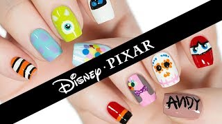 10 Disney Pixar Nail Art Designs: The Ultimate Guide!