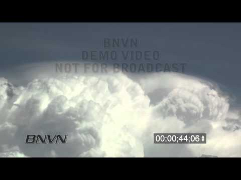 6/2/2010 Time Lapse Cloud Stock Footage