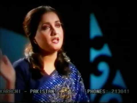 Naheed Akhtar - Dil Jala Na Dilwale - Live video