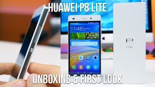 Huawei P8 lite Unboxing and First Look
