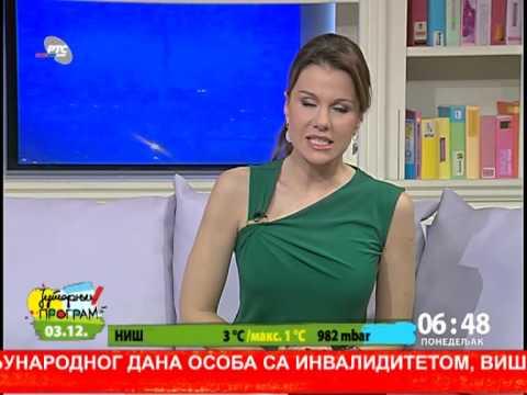 Maja Nikoic Japundza  Jutarnji Rts A 3 Decembar video