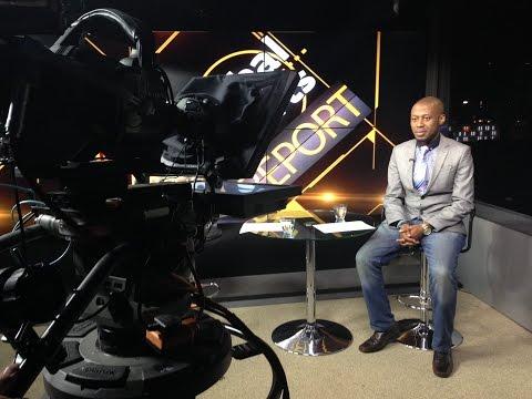 Shoggy Tosh on Global Sports Report, Arise News, London - 9 January 2015