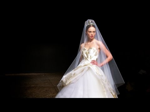 Lazaro Spring 2014 Bridal - Interviews and Runway | Videofashion