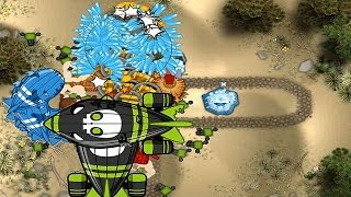 BMC - City Level 16 - Double BFB on Impoppable - Cactus Map - Bloon Dunes