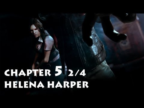 Resident Evil 6 - Helena Chapter 5 Part 2/4 ・ Leon's Campaign Co-op