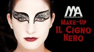 Make-up Il Cigno Nero | Come truccarsi per Halloween | Marta Make-up Artist