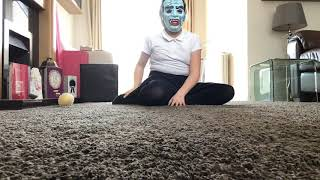My first dance video/ the girl in the mask