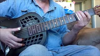 Delta Blues Open G Instrumental Guitar lesson