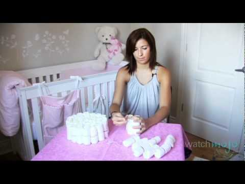 Step By Step How To Make A Diaper Cake