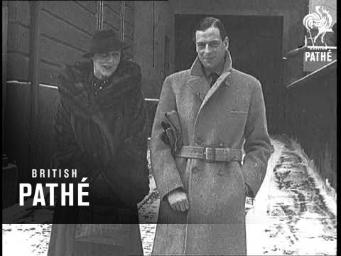 Duke And Duchess Of Kent At Munich News In A Nutshell (1935)