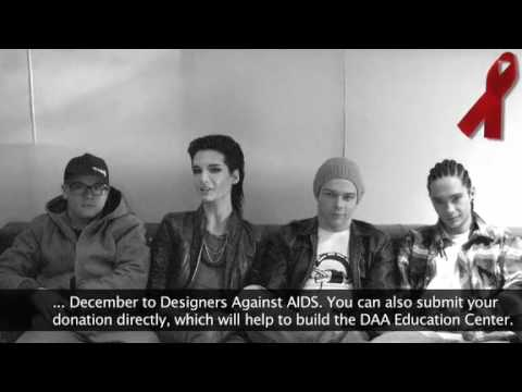 02.12.09 Tokio Hotel World AIDS Day Message
