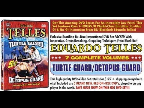 Turtle Octopus Guard Master Eduardo Telles vs. Eric Shambari at 2007 Grapplers Quest ADCC IBJJF Image 1