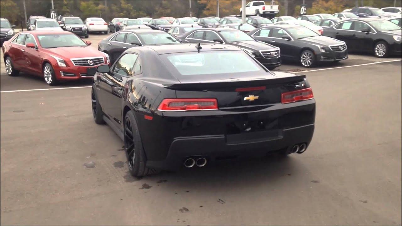 2015 Chevrolet Camaro Zl1 Youtube