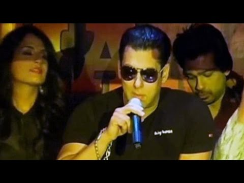 Salman Khan's Tamanchey Pe Disco video