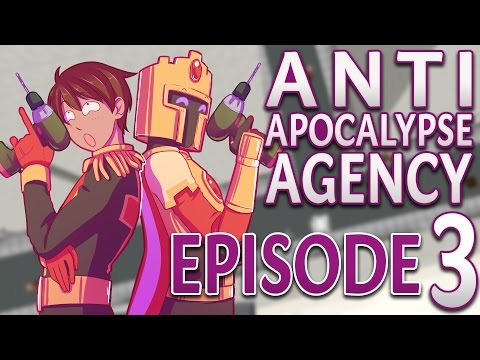 Anti Apocalypse Agency: LA PERCEUSE INFERNALE - #3