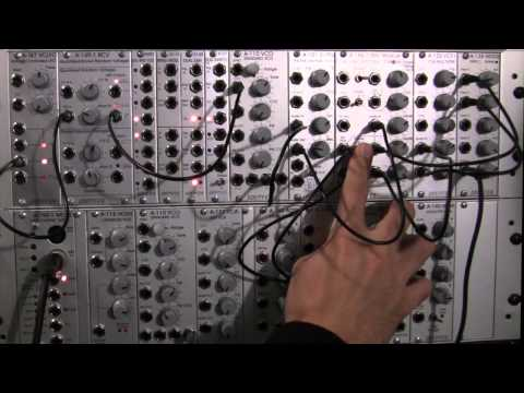 Doepfer A188-1 BBD Basics Audio Demo Part 3: More Modulation and VC Feedback