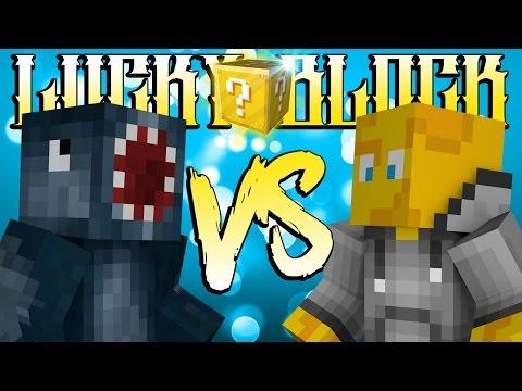 Minecraft - Lucky Block Showdown! W/AshDubh