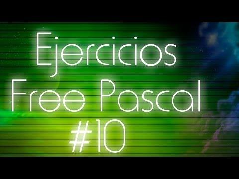 Ejercicios de Pascal - 10: Array ordenado de punteros