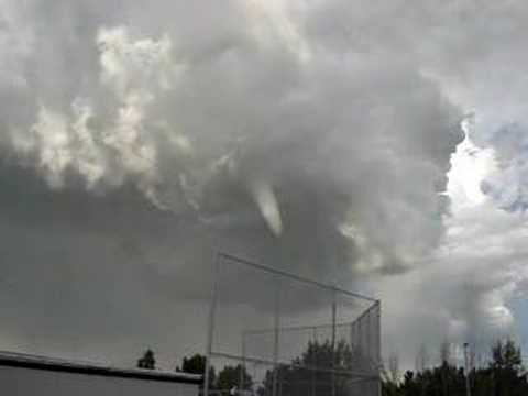Funnel Cloud In The Sky